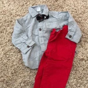 Infant boy's outfit- great for wedding or holiday